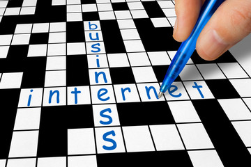 Crossword - Business and Internet