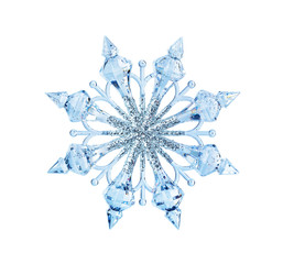 Toy snowflake