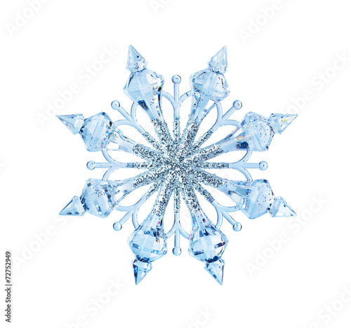 canvas print picture Toy snowflake