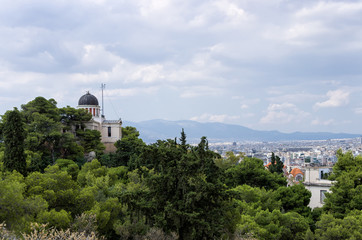 View to Athens city, Greece