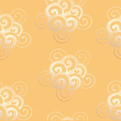 Abstract background with rounded shapes