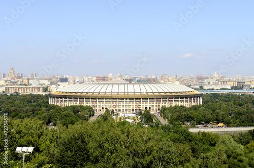 view of Moscow and Luzhniki Stadium - 72754570