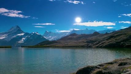Bachalpsee lake timelapse