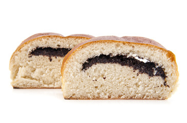 roll with poppy seeds