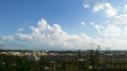 Garbatella time lapse in Rome
