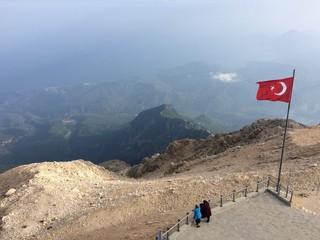 Tahtalı Dağı 2365 metre Antalya
