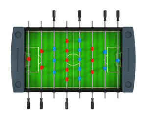 Foosball Soccer Table Game