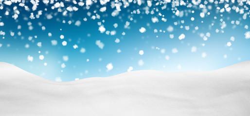 Hintergrund, Himmel, Schnee, verschneit, Himmelblau, blau, blue