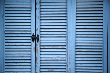 Blue Closed Window