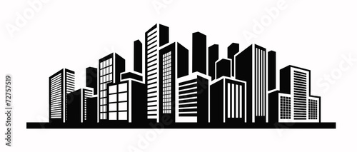 Zdjęcia na płótnie, fototapety, obrazy : Building icon