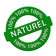 """Tampon """"100% Naturel"""" (biologique produits recyclé)"""