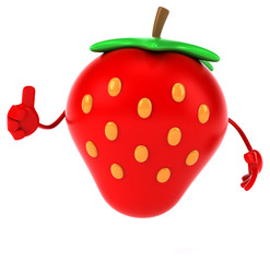 Fun strawberry