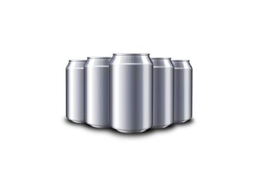 tin bottle