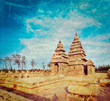 Shore temple - World  heritage site in  Mahabalipuram, India