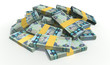 Dirham Notes Scattered Pile
