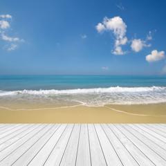 Strand / Urlaub / Meer / Holz