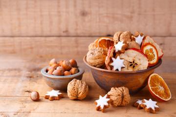 Weihnachtsdeko - Gesunde Süßigkeiten im Advent