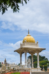 Statue of he king of Mysore