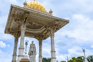 Statue of the King of Mysore