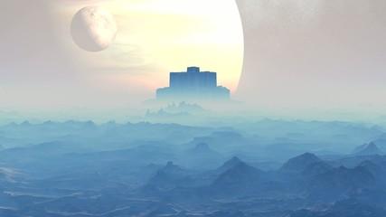 Castle aliens