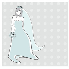 Wedding invitation/bridal shower/vector background