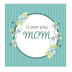 greeting card design for mothers day