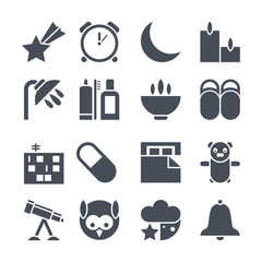 Icons deep sleep