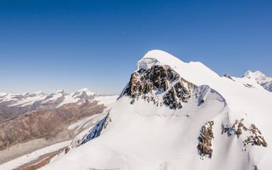 Zermatt, Dorf, Schweizer Alpen, Breithorn, Klettertour, Sommer