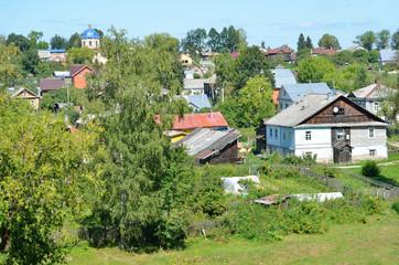 Виды города Кашин, Тверская область