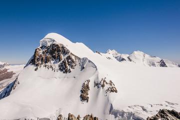 Zermatt, Dorf, Walliser Alpen, Breithorn, Seilschaft, Schweiz