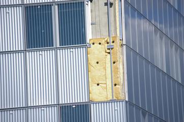 isolation de bâtiment industriel