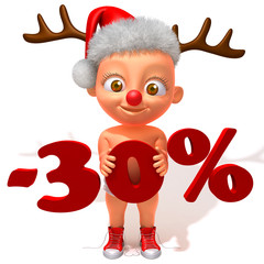 Baby Jake christmas sale 30 percent discount