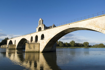 The Pont d'Avignon on the Petit Rhône