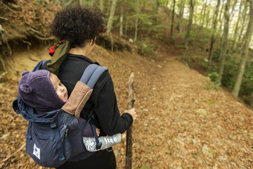 Trekking with a baby 2