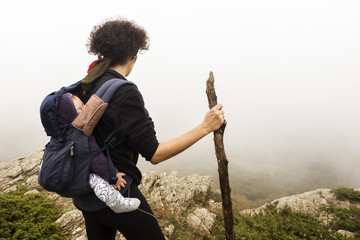 Trekking with a baby 5