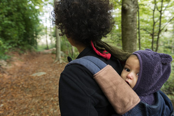 Trekking with a baby 1