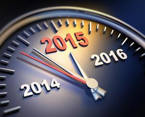 Uhr Jahreswechsel 2014 2015