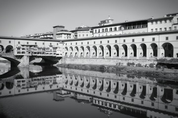 Florence - black and white image