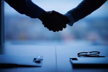 Outline of handshake