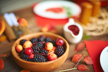 Berries and rennets