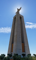 Jesus Christ Monument Cristo-Rei Lisboa in Lisbon