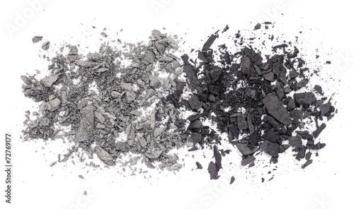 canvas print picture grauer Lidschatten