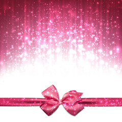 Christmas pink abstract background.