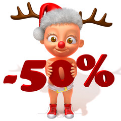Baby Jake christmas sale 50 percent discount