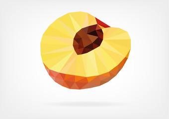 Low Poly Peach