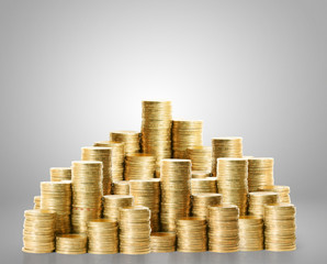 Coins graph stock