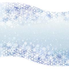 雪 冬 景色 背景 Winter background with blue snow scenery