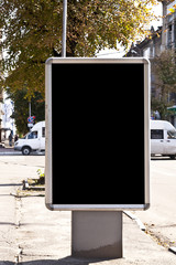 Billboard, banner, empty