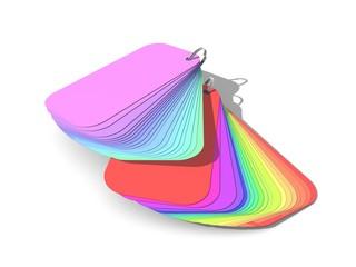 Spectrum kleuren kaart
