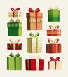 Gift set. Christmas card